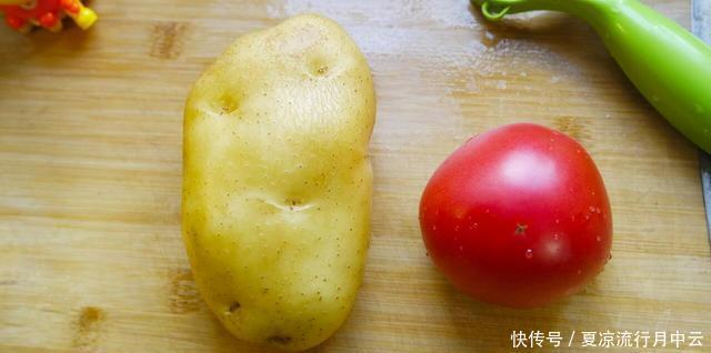 土豆|1个土豆,1个西红柿,这样简单一做,开胃下饭,比肉还香